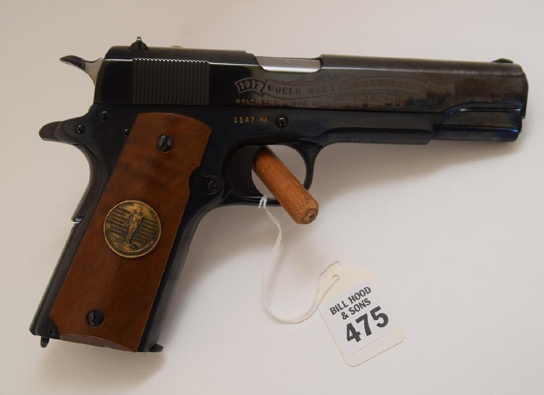 Colt 45 Caliber, 1911 WWI Commemorative Model, Muese