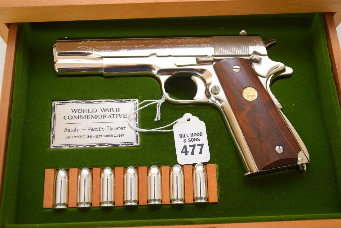 Colt 45 Caliber, 1911 Model, WWII Commemorative
