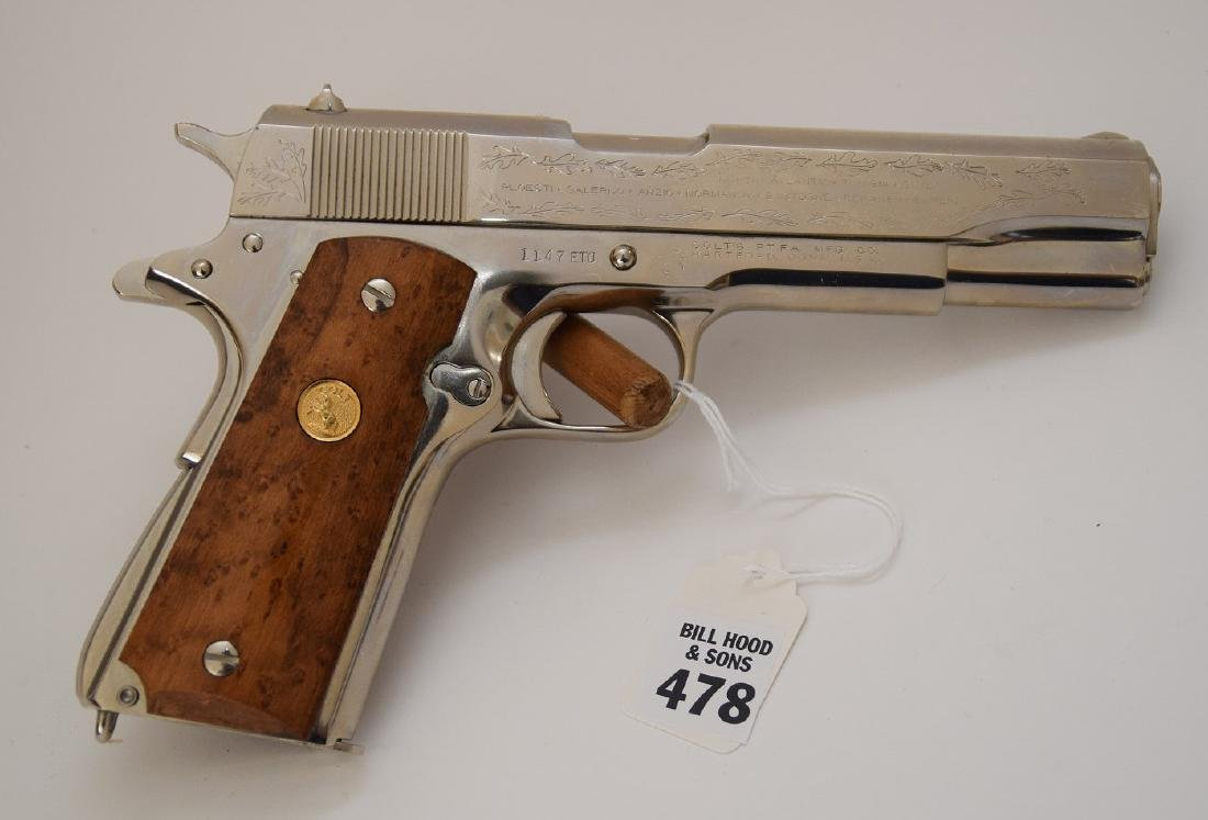 Colt 45 Caliber, 1911 Model, European Theater