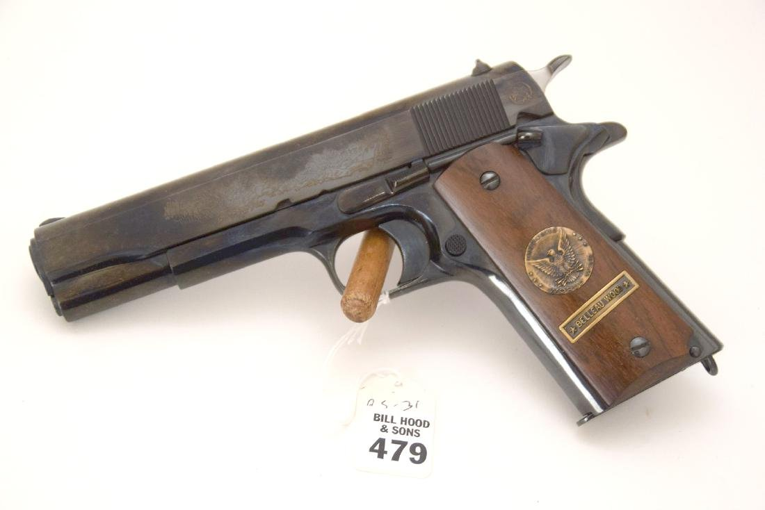 Colt 45 Caliber, 1911 Model, Belleau Wood WWI