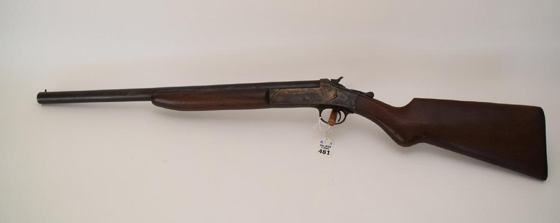 """Volunteer"" 12 Gauge Single Barrel shot gun, serial"