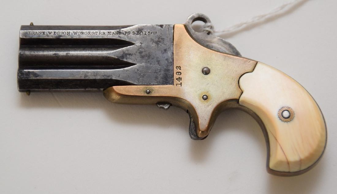 Frank Wesson Parlor Pistol - 4