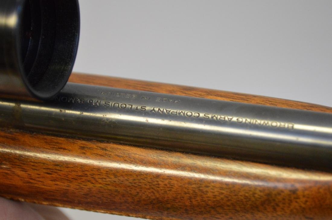 Browning 22 Caliber with Scope - 10