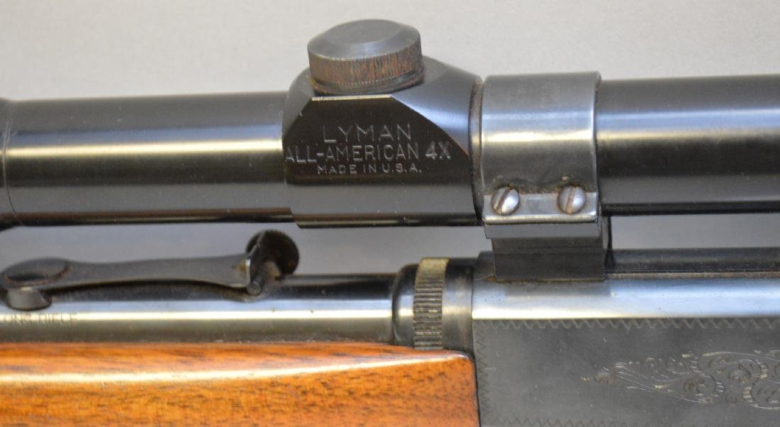 Browning 22 Caliber with Scope - 5