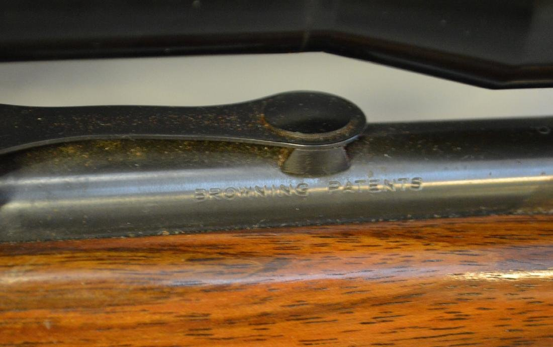 Browning 22 Caliber with Scope - 9