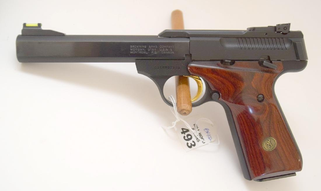 Browning 22 Caliber Pistol, Good Condition