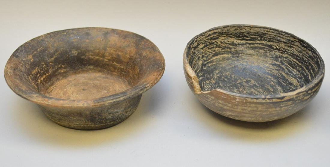 Four Pre-Columbian Black Ware Pottery Vessels - - 3