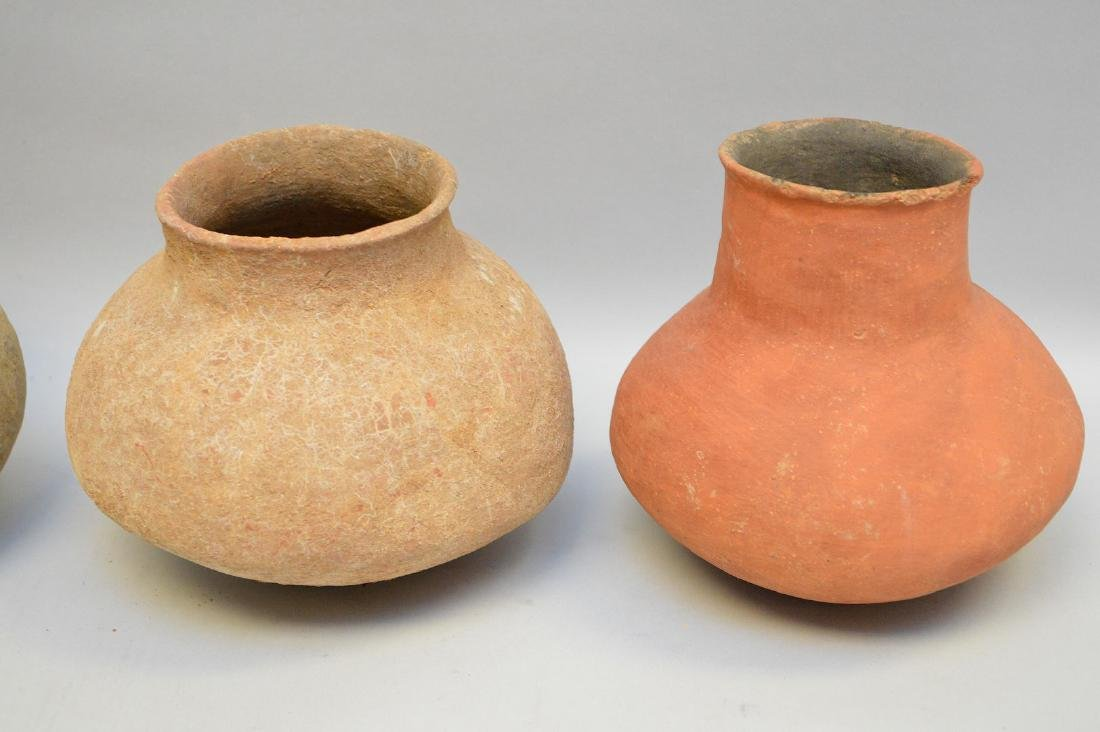 Four Salado Culture Native American Pottery Ollas, ca. - 2