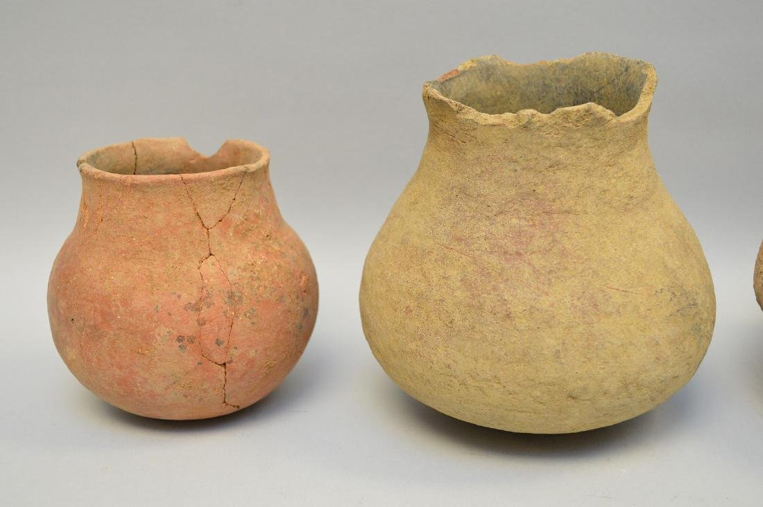 Four Salado Culture Native American Pottery Ollas, ca. - 3