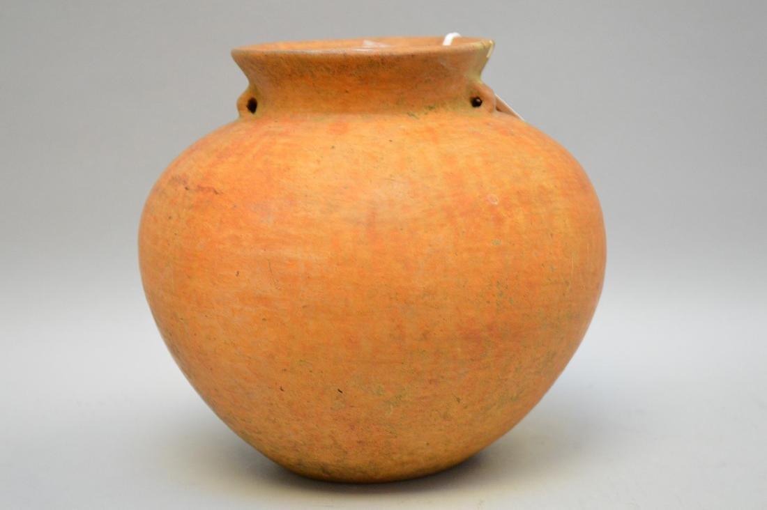 Pre-Columbian Usulutan Ceramic Olla w/ small strap