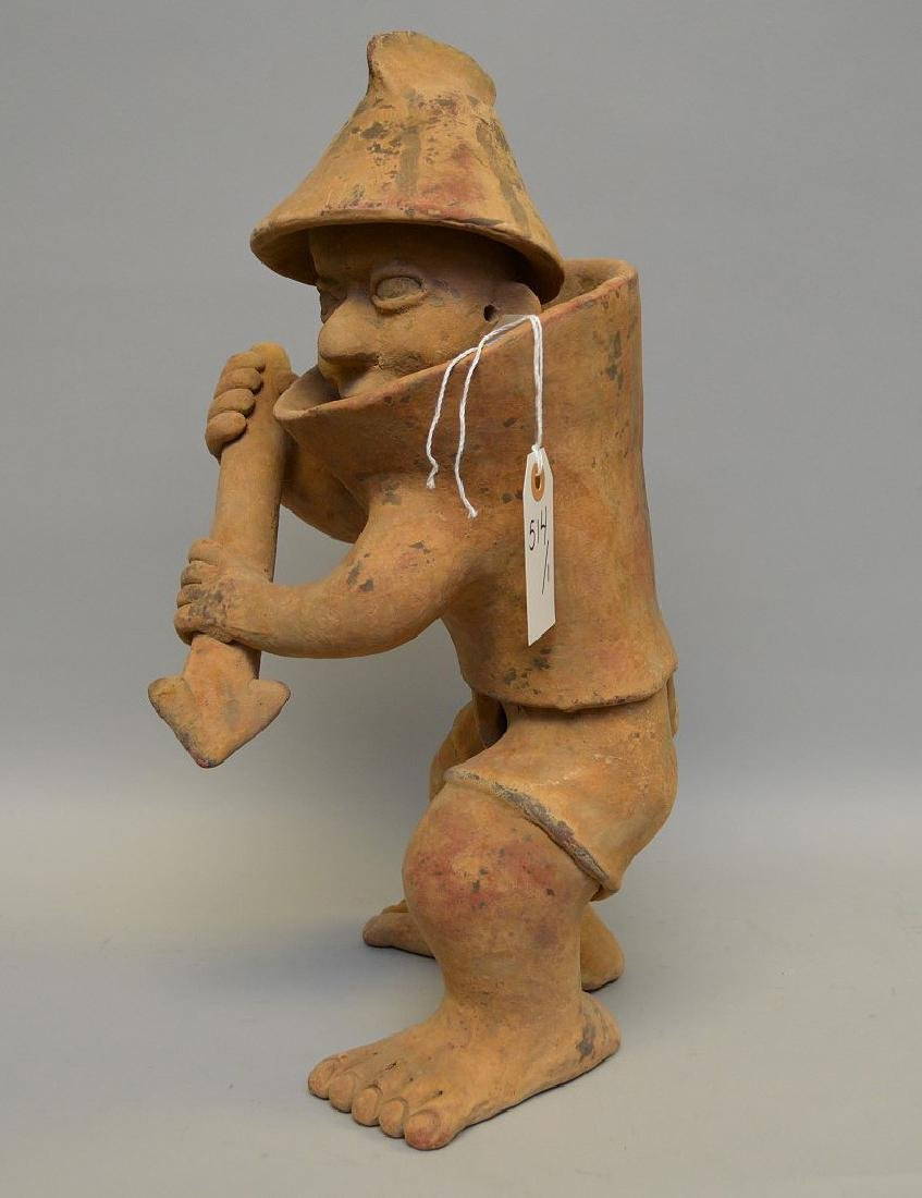 Jalisco Warrior Pottery Sculpture Pre-Columbian. - 4