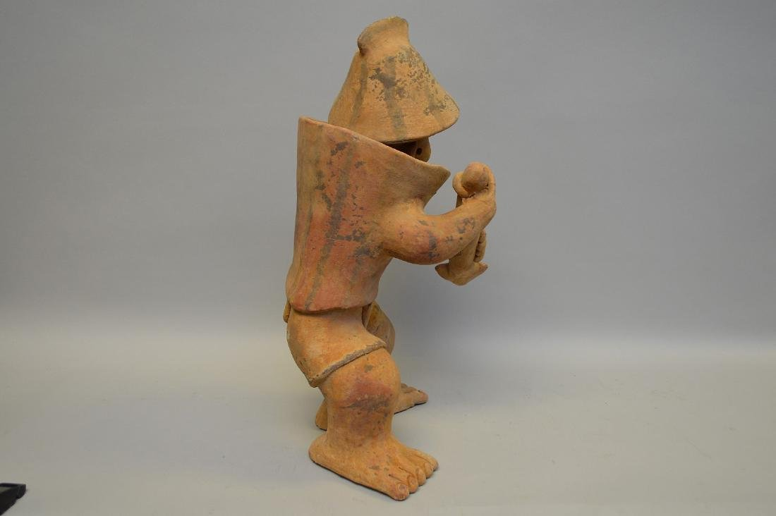 Jalisco Warrior Pottery Sculpture Pre-Columbian. - 7