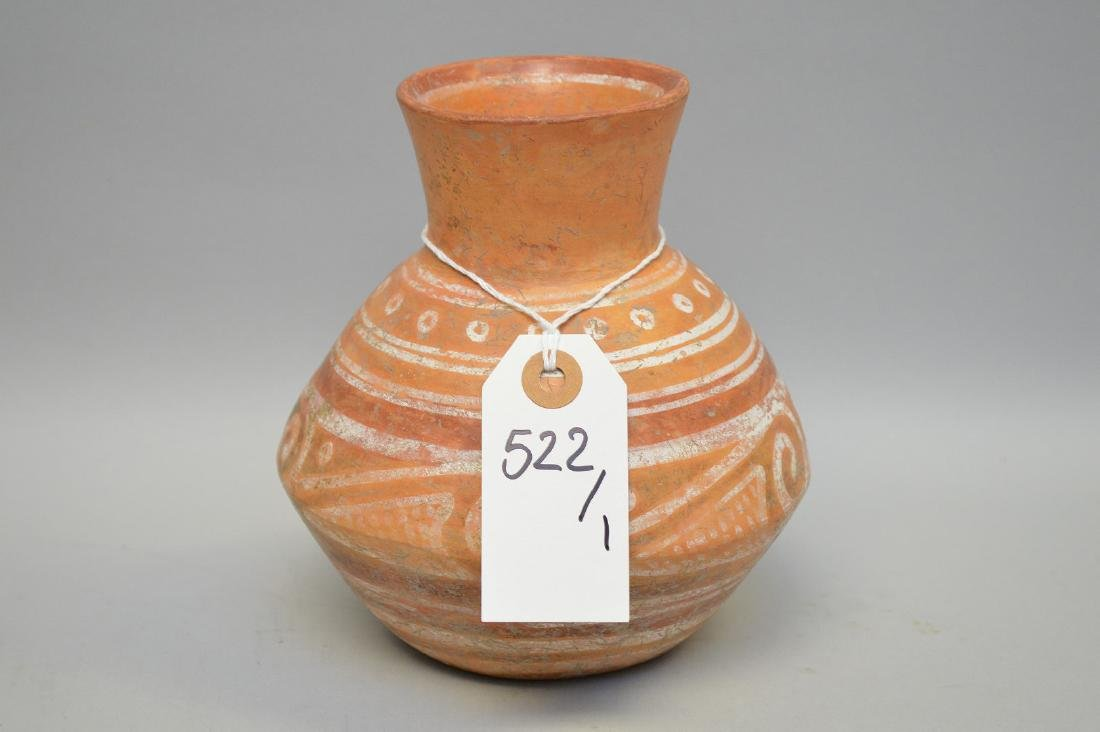 Pre-Columbian Pottery Polychrome Burial Offering Olla