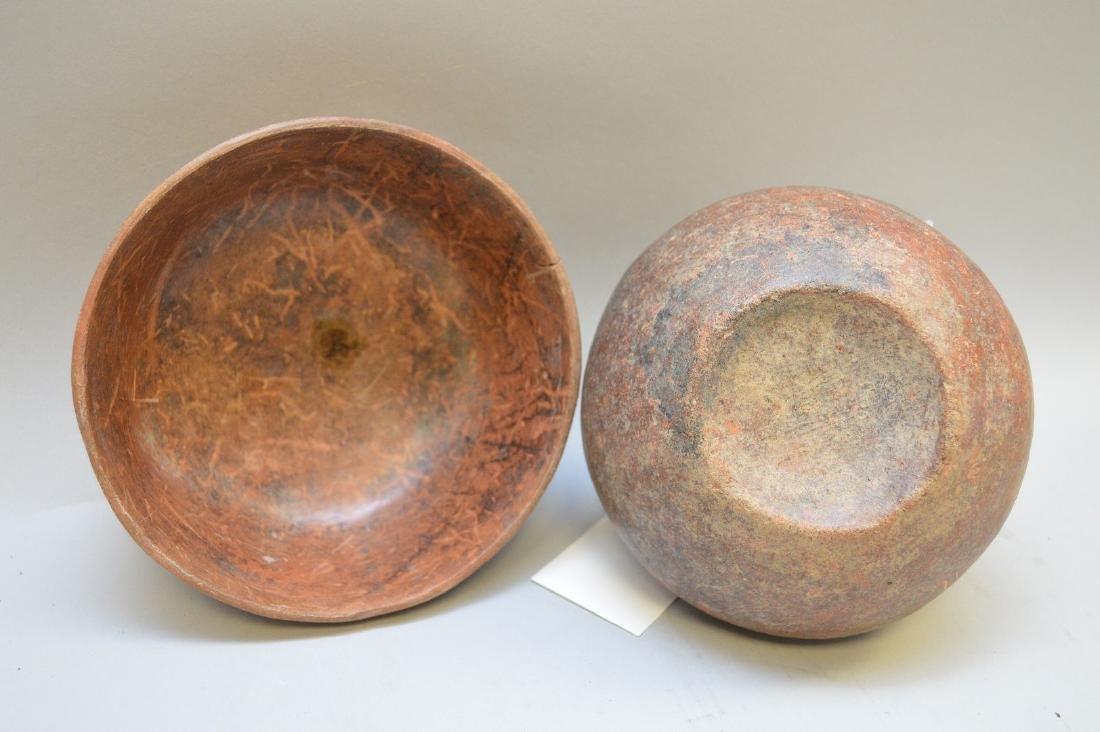 Pre-Columbian Pottery Nayarit Olla & Bowl (ca ~100 AD - - 3