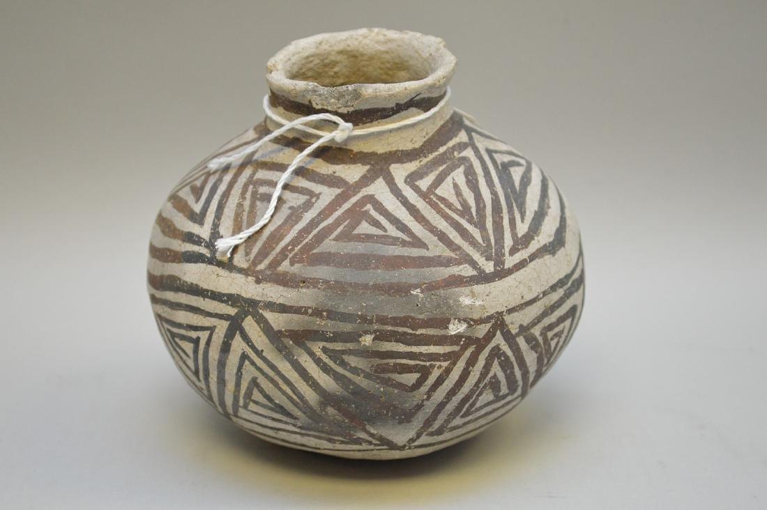 Puerco Black-on-White Pottery Olla Pueblo Anasazi - 2