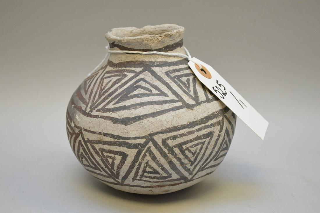 Puerco Black-on-White Pottery Olla Pueblo Anasazi - 3