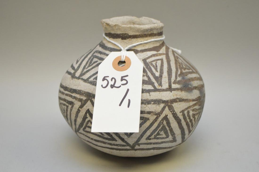 Puerco Black-on-White Pottery Olla Pueblo Anasazi - 4