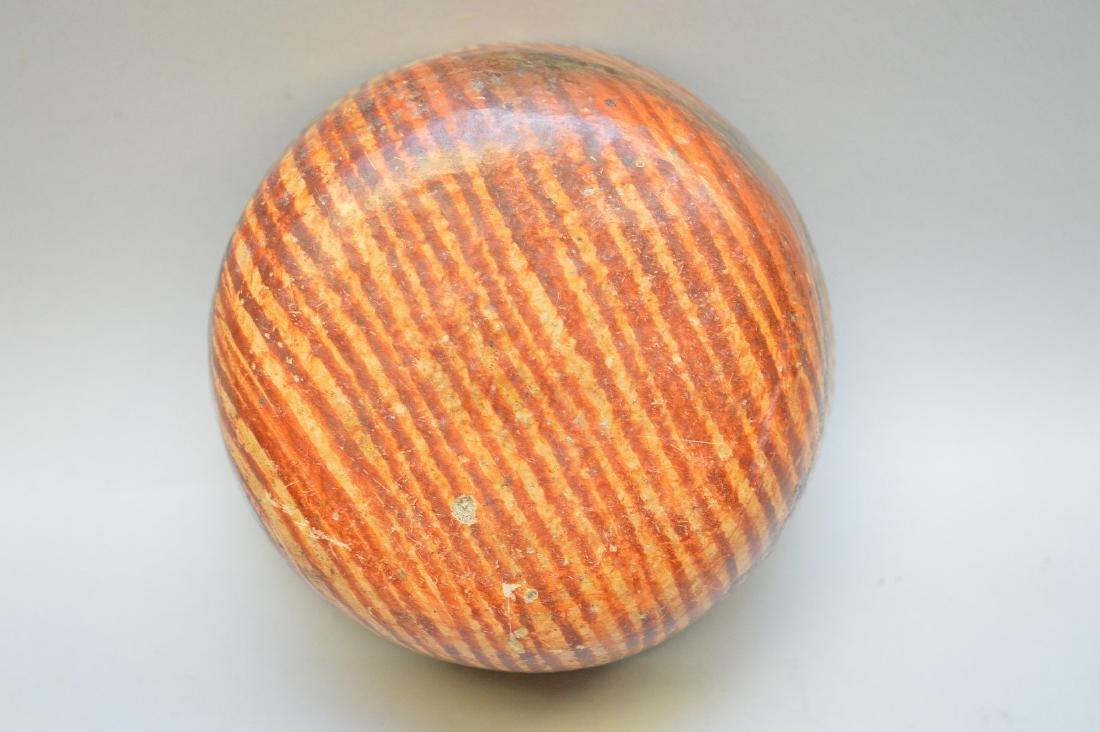Pre-Columbian Nayarit Polychrome Snake Pottery Bowl - 6
