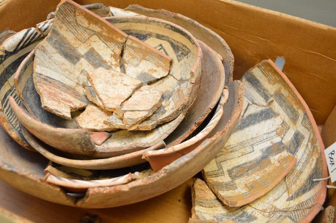 Fractured Anasazi Gila Polychrome & Salado Pottery - 2