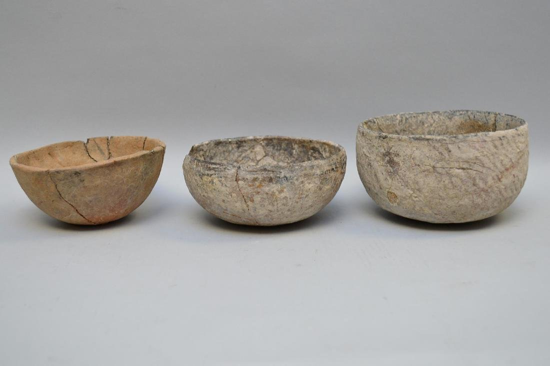 Three Native American Salado Pottery Bowls  Tonto - 2
