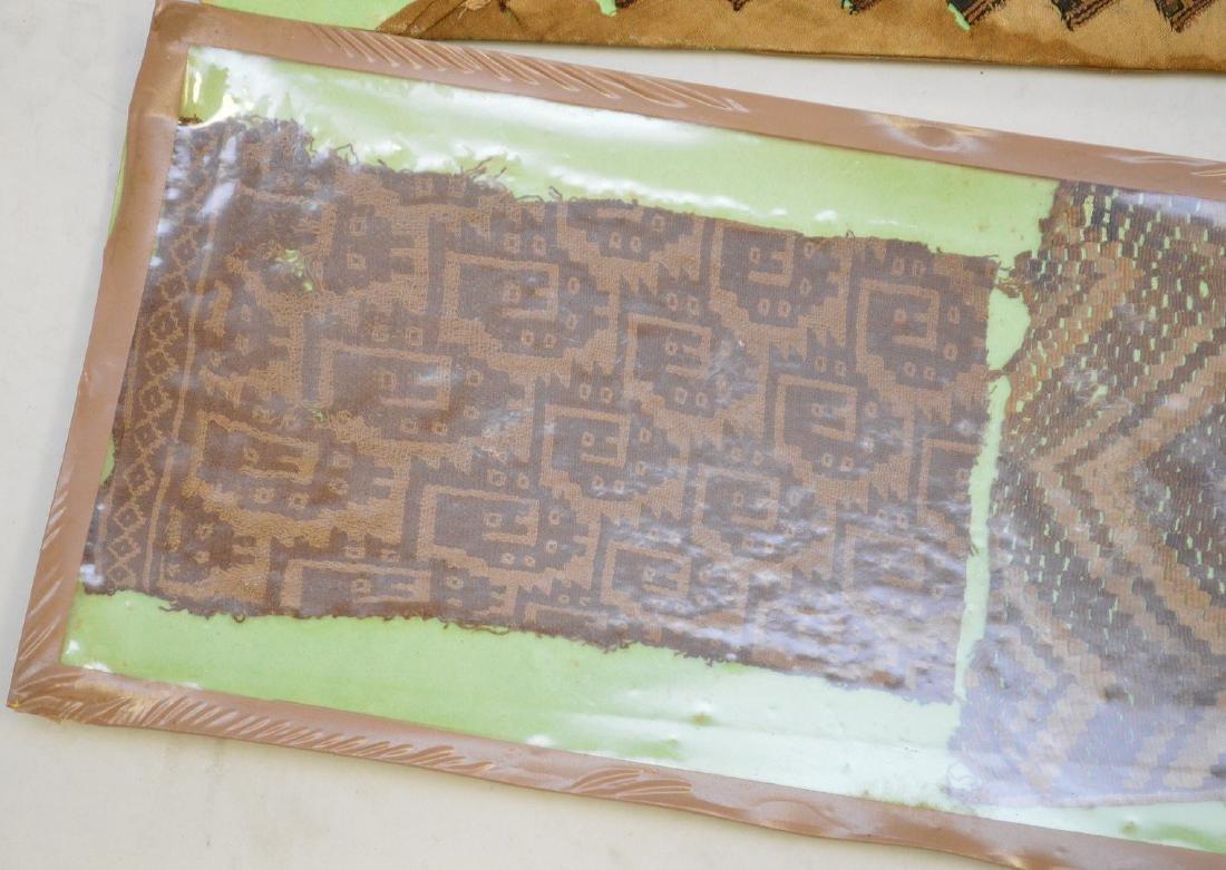 Six Pre-Columbian South American Textile Fragments - - 3