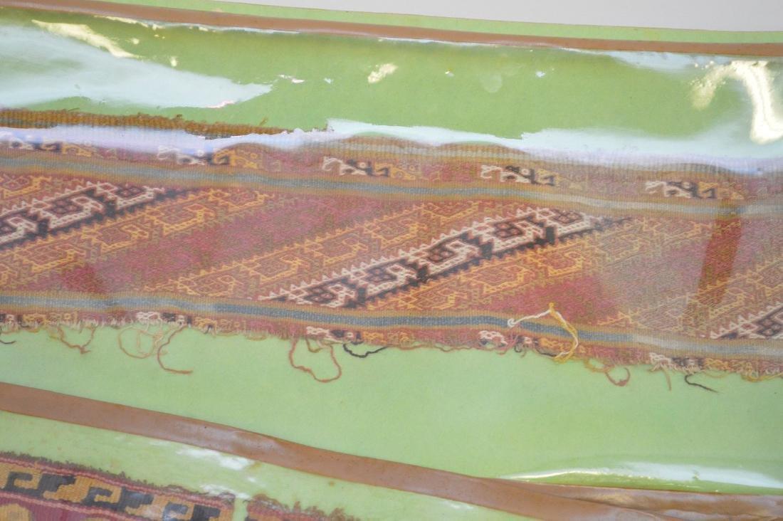 Six Pre-Columbian South American Textile Fragments - - 6