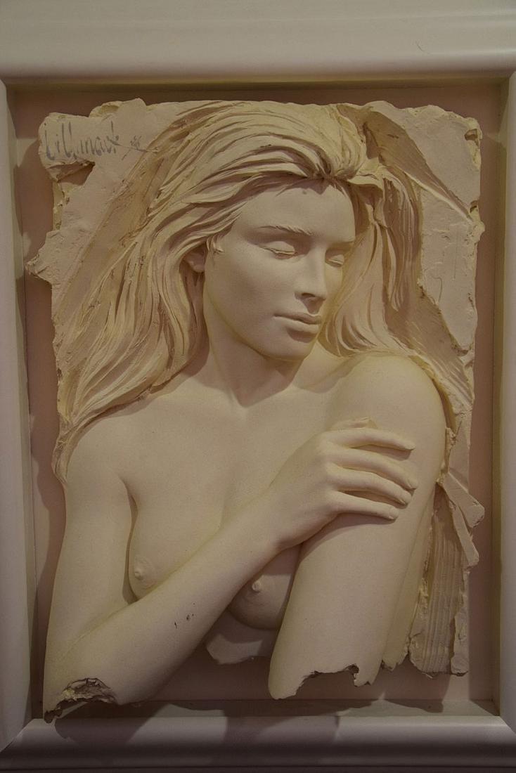 Bill Mack (American, born 1949)  Pair Nude sand casts, - 3