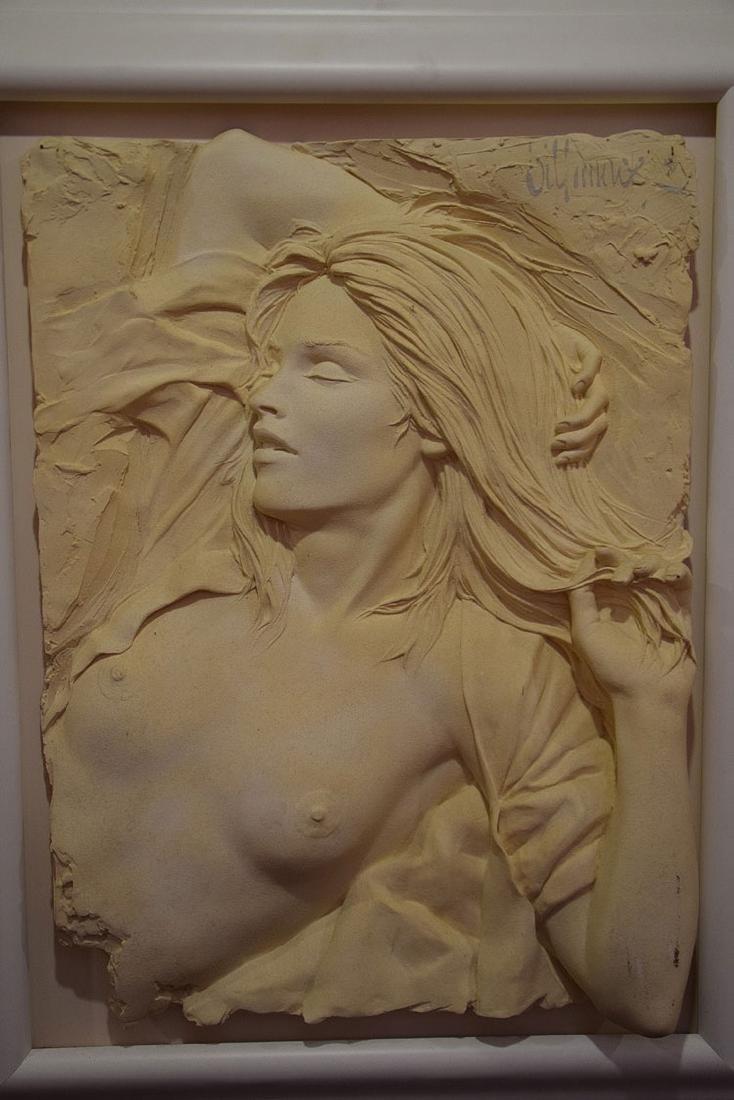 Bill Mack (American, born 1949)  Pair Nude sand casts, - 4