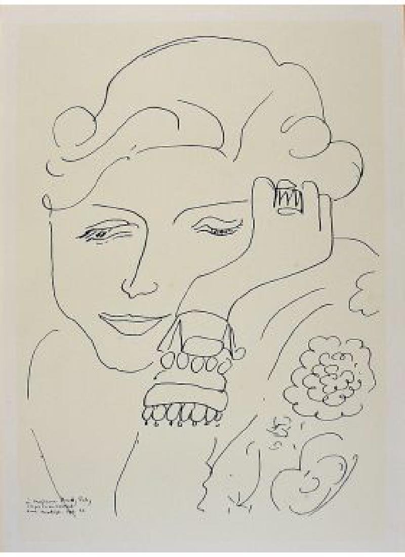 Henri Matisse (FRENCH, 1869-1954) Lithograph, Dorothy