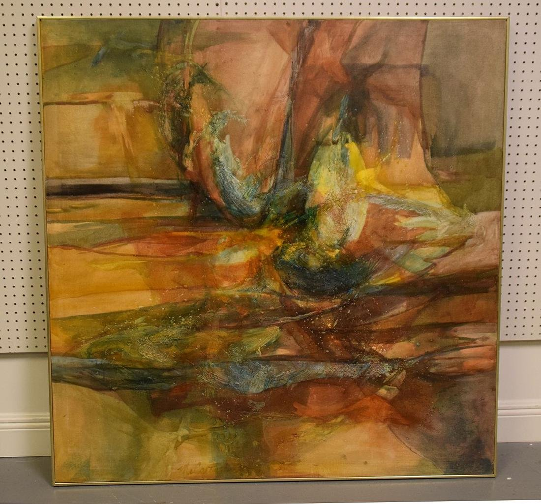 Lourraine McCarty Large Abstract, ALPHA & OMEGA,