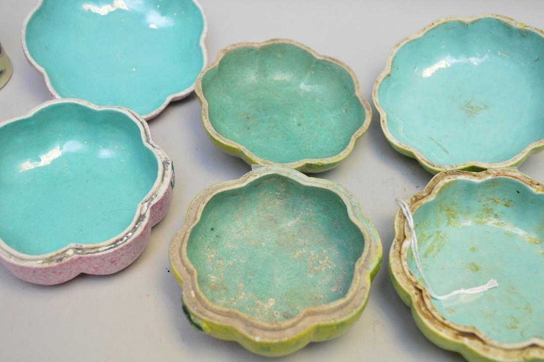 Seven Asian Porcelain Articles. Lot includes three - 6