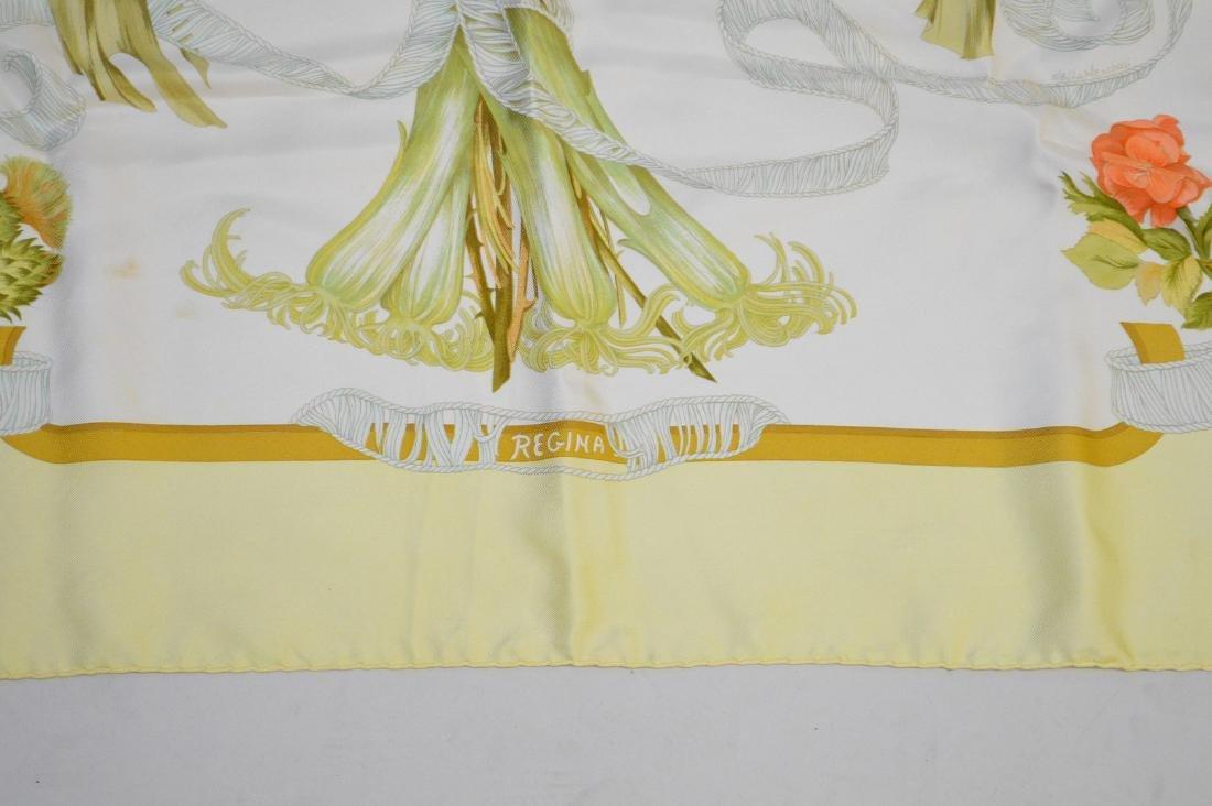 "Hermes silk scarf in box, ""Regina"" - 3"