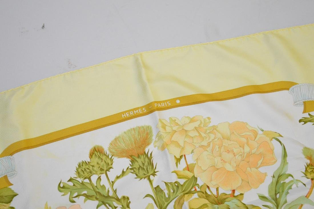 "Hermes silk scarf in box, ""Regina"" - 4"