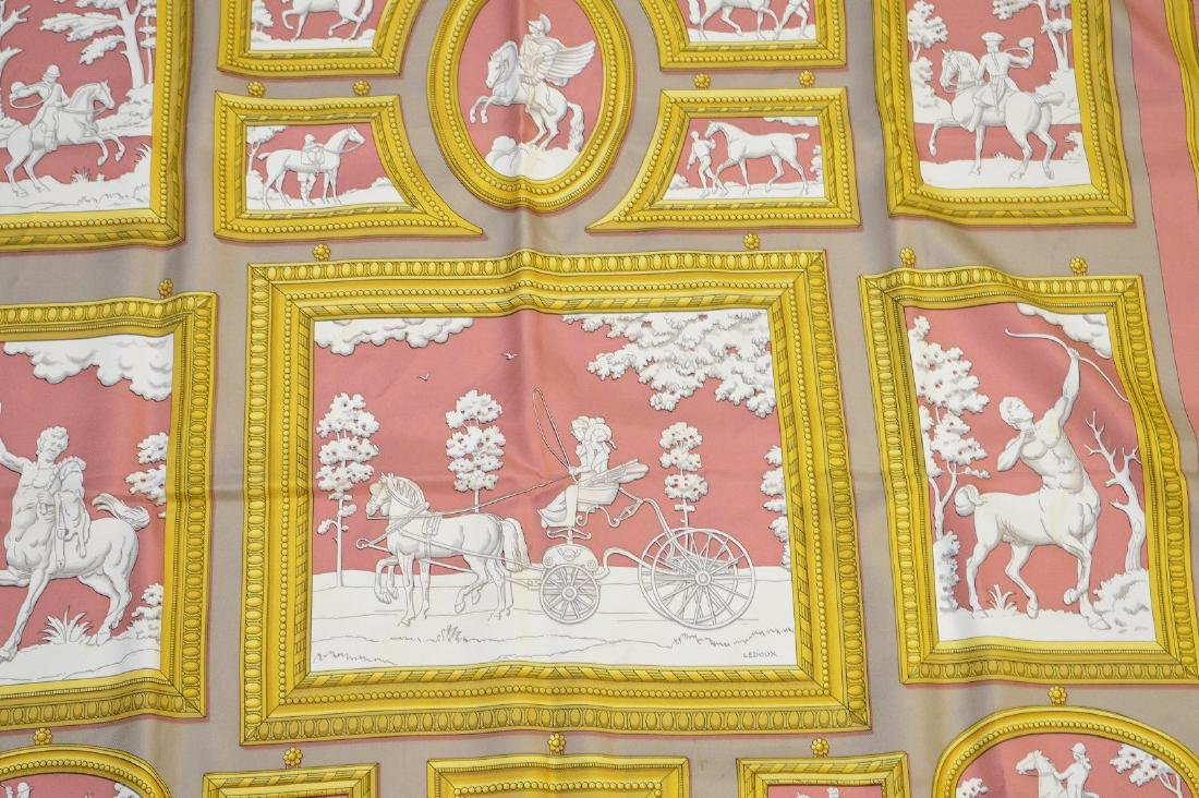 "Hermes silk scarf in box ""Wedgwood by Ledoux"" - 2"