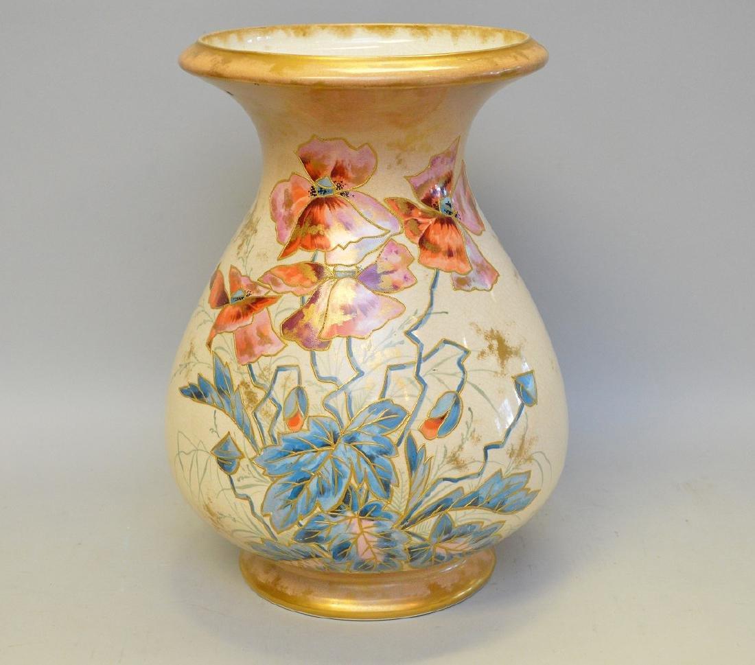 """Royal Bonn vase, 12""""h x 10""""w"""