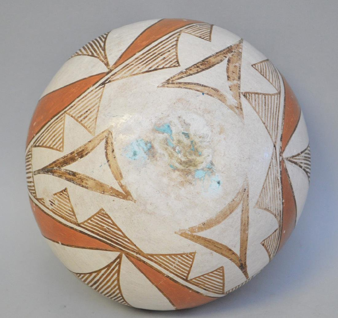 Polychrome Native American Pueblo Pottery Bowl - - 4