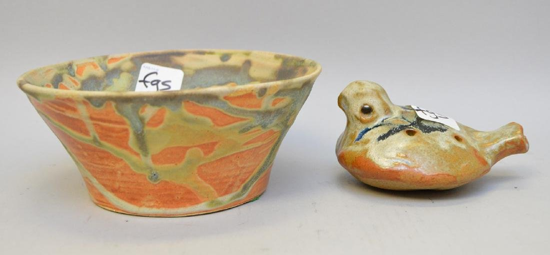 2  Native & South American Repro Pottery Vessels