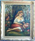 1182: Alexandre Blanchard French 20th Cent Oil painting