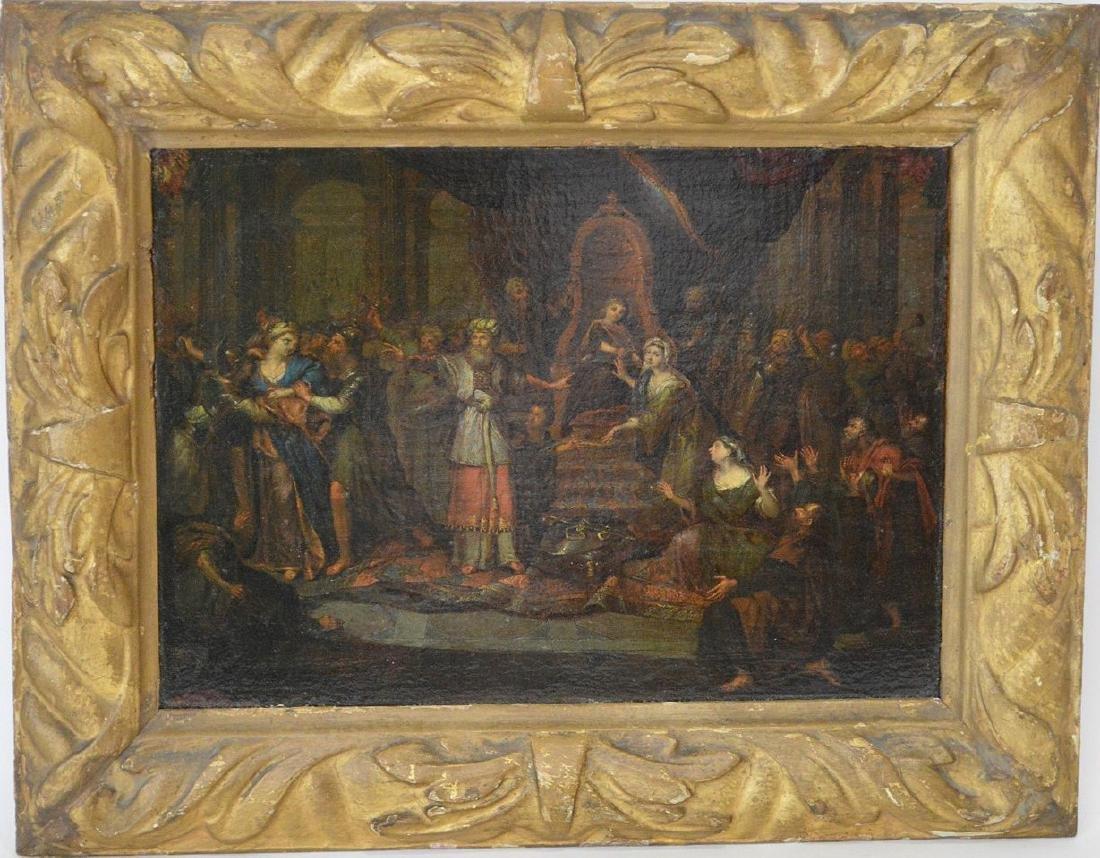 Charles-Antoine Coypel (FRENCH, 1694–1752) oil on