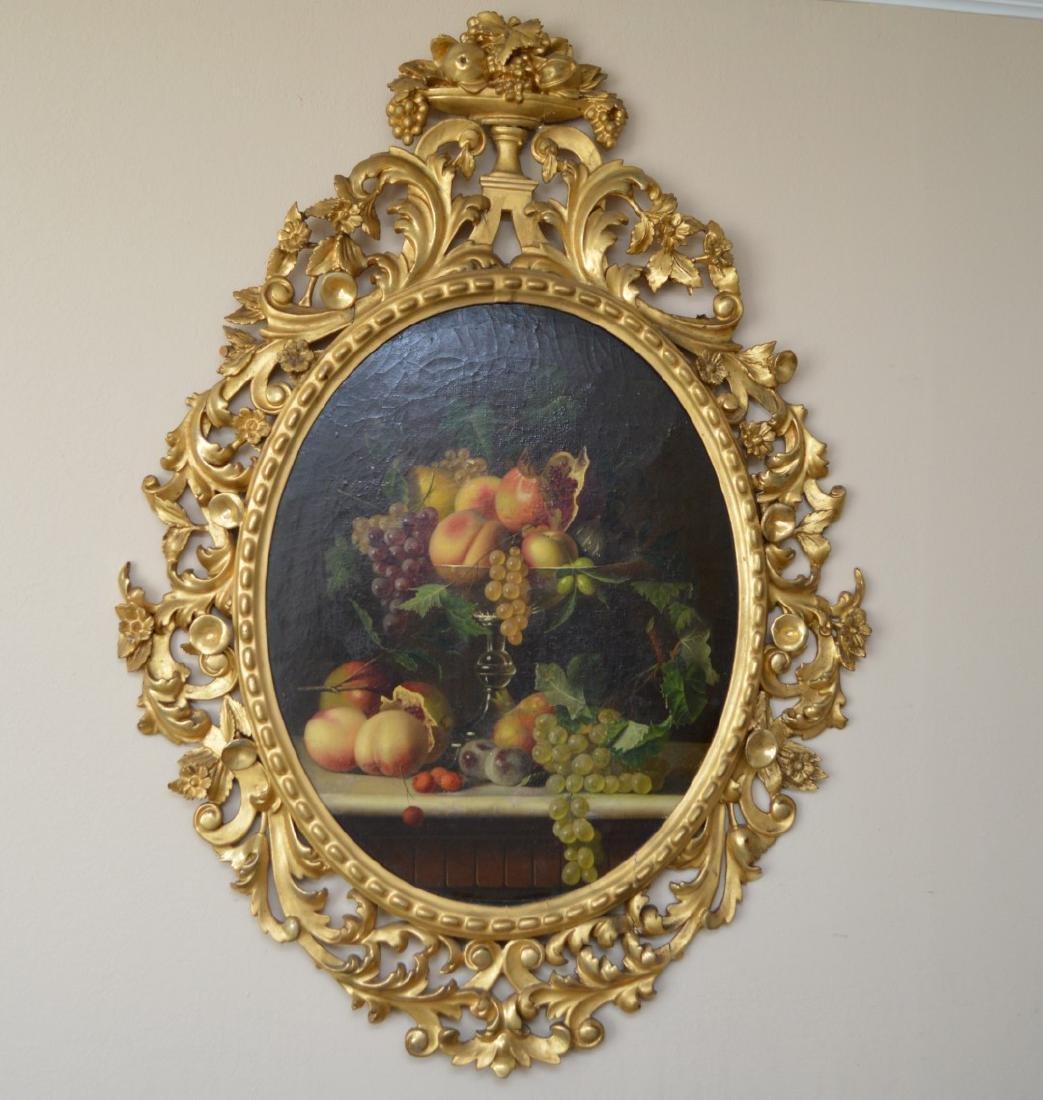 19th Century Still Life Fruit after Severin Roesen,