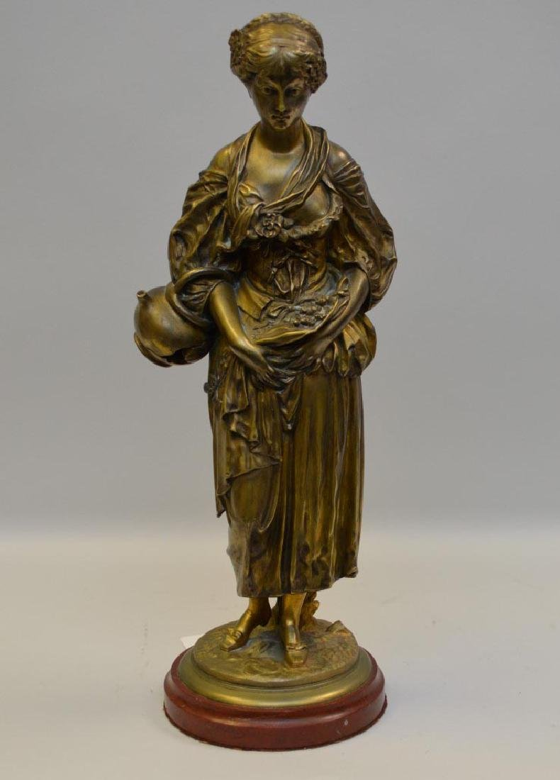 French Bronze Louis Kley (1833 - 1911) Sculpture of