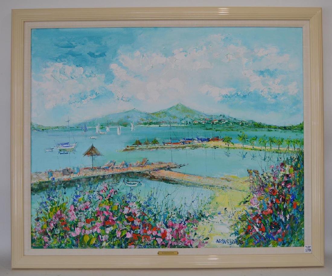 Yolande Ardissone (FRENCH b, 1927) oil on canvas, Large