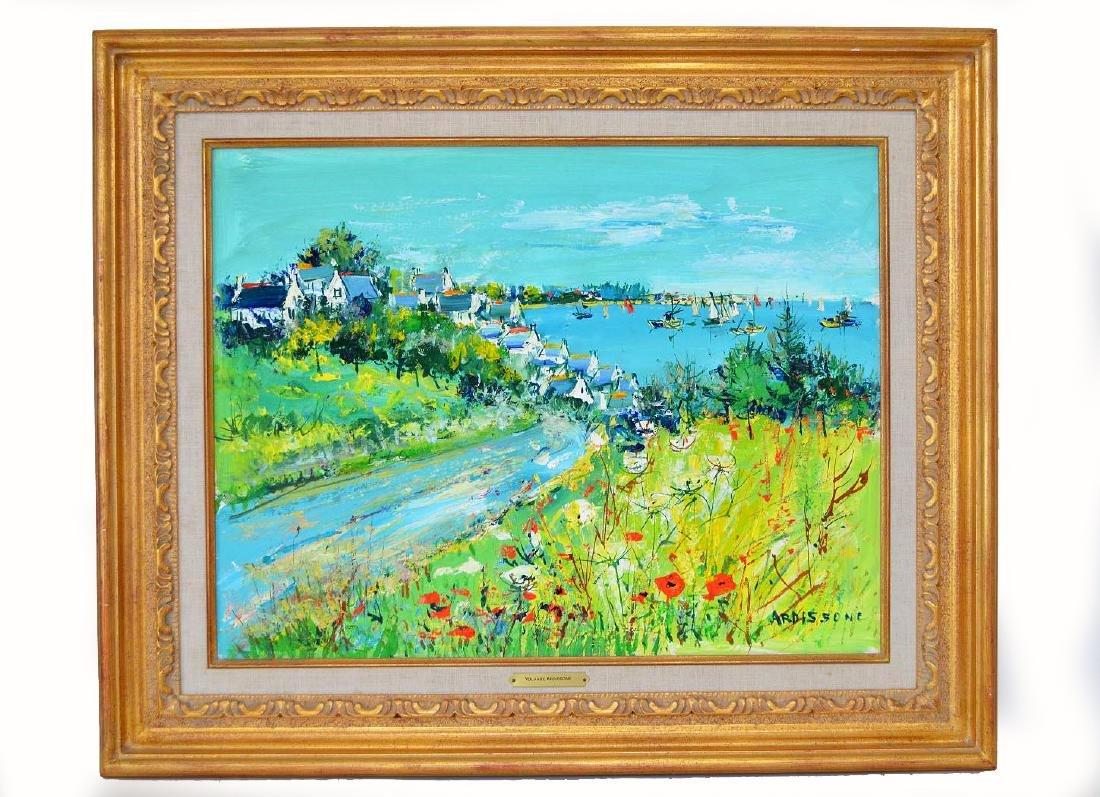 Yolande Ardissone (FRENCH b, 1927) oil on paper,