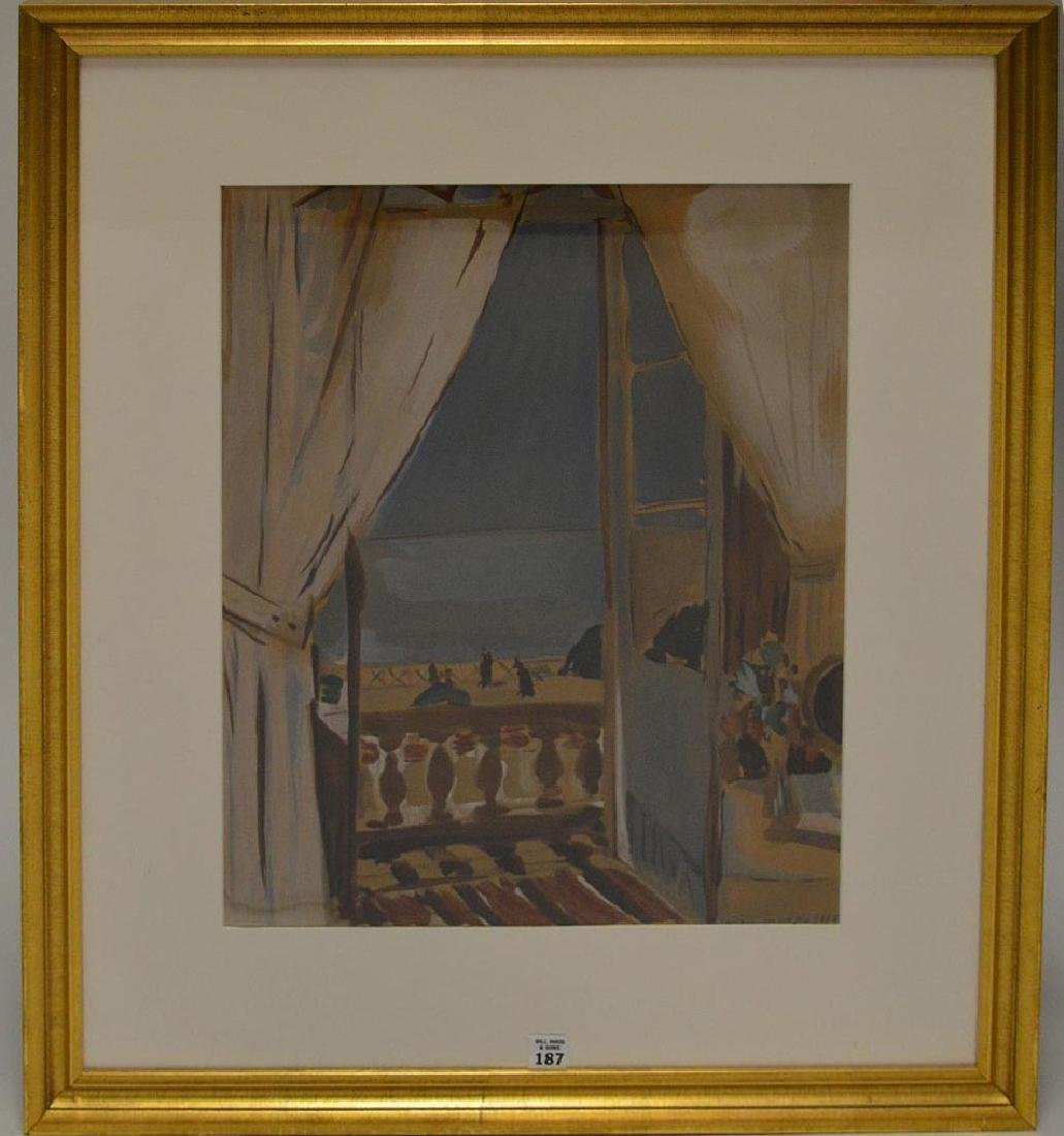 HENRI MATISSE, French 1869-1954 , framed lithographic