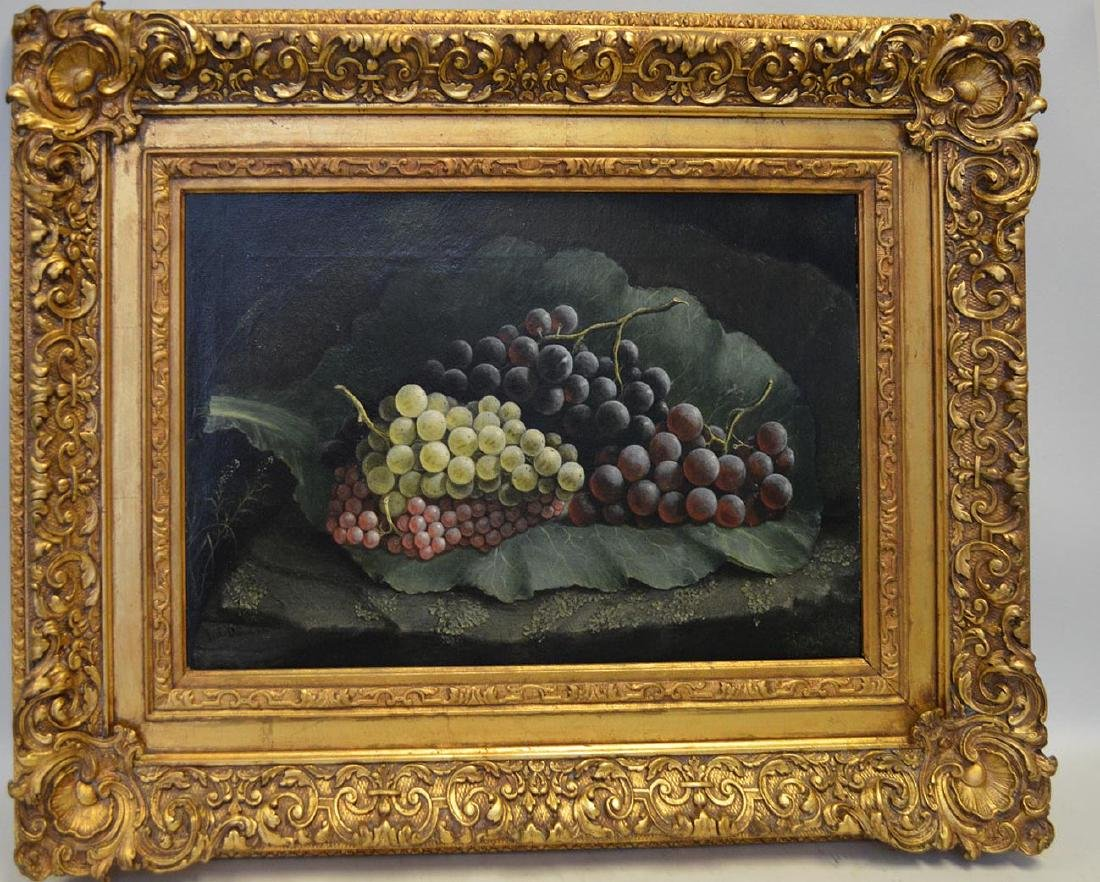 19th Century signed illegibly lower left, oil on canvas