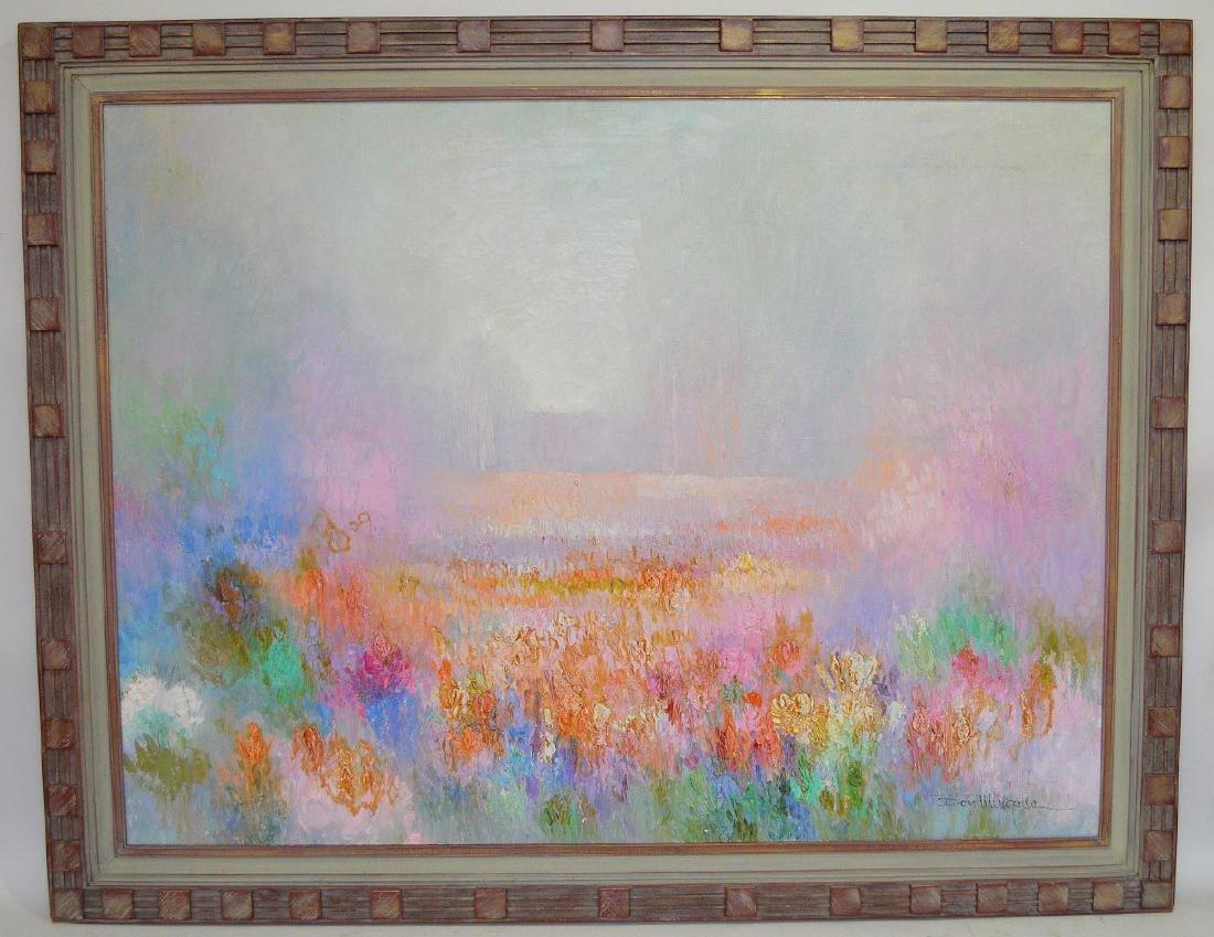 Don Mingolla (American, 20th century) oil on canvas