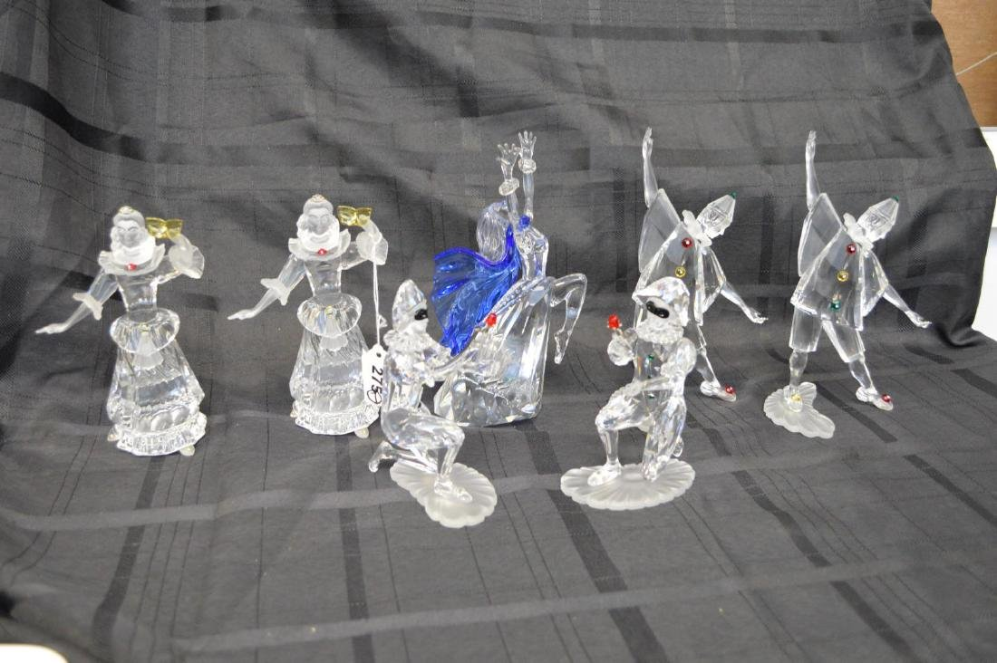 Collection of 7 Swarovski crystal figures, Magic of