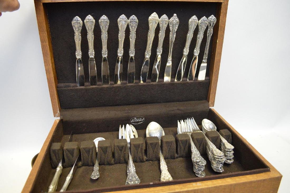 "48 Piece Gorham Sterling ""King Edward"" Flatware"
