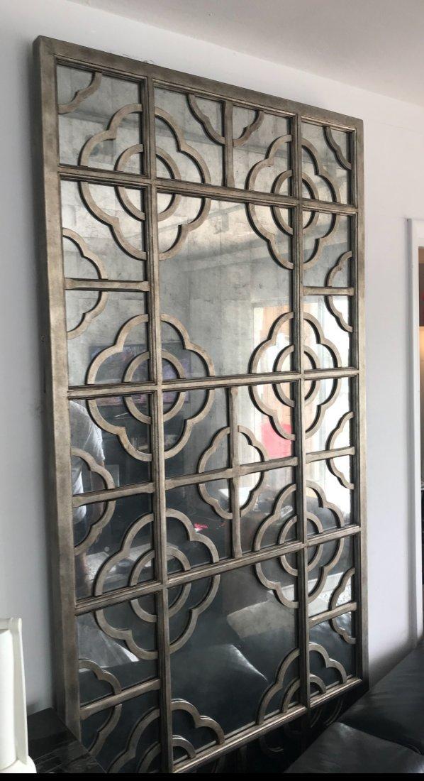 John Richard Silver-Leaf Mirror