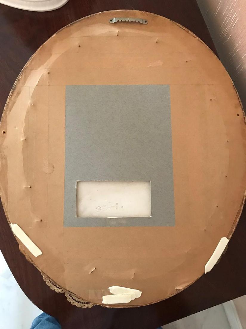 19th Century KPM Porcelain Oval Plaque Depicting a - 4